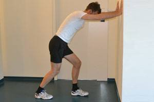soleus stretching exercise